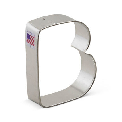 """B"" Cookie Cutter"