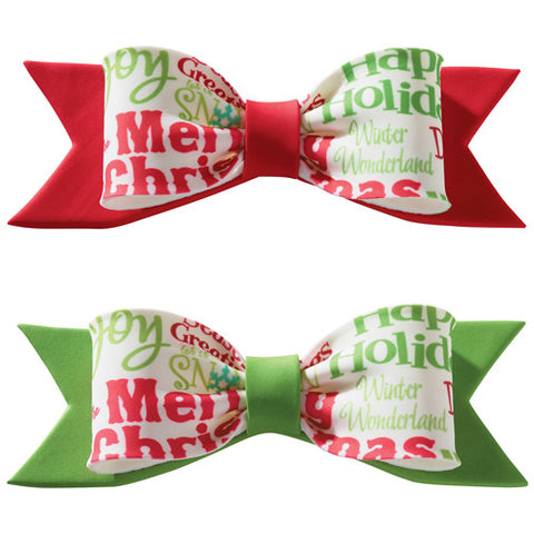 Holiday Bows - Miles Cake & Candy Supplies