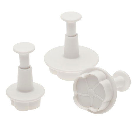 3 Pc Flower Cutters - Miles Cake & Candy Supplies