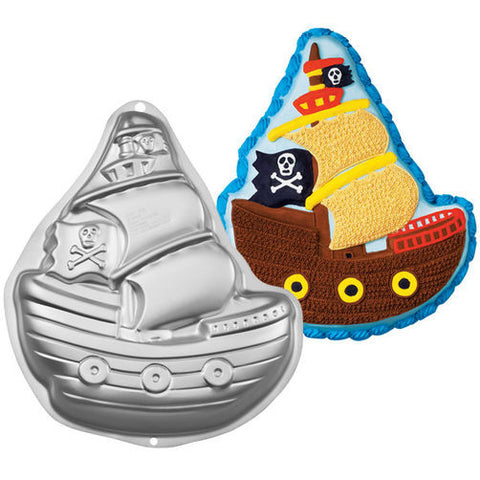 Wilton Pirate Ship Pan - Miles Cake & Candy Supplies
