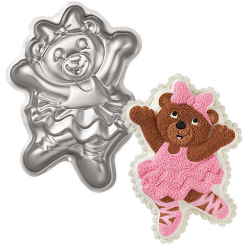 Wilton Ballerina Bear Pan - Miles Cake & Candy Supplies