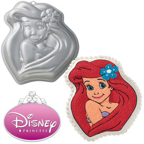 Wilton Disney Princess Ariel Cake Pan - Miles Cake & Candy Supplies