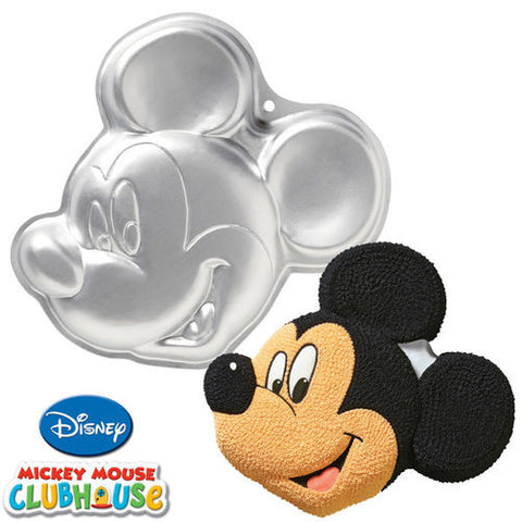 Wilton Mickey Mouse Clubhouse Mickey Cake Pan - Miles Cake & Candy Supplies