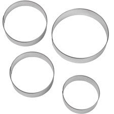Circles Nesting Cookie Cutter - Miles Cake & Candy Supplies