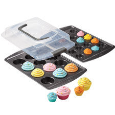 Wilton 3-Pc. Covered Cupcake Set - Miles Cake & Candy Supplies