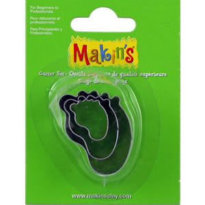 Makin's Cutter 3/S - Baby Foot - Miles Cake & Candy Supplies