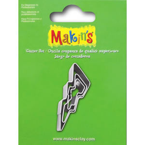 Makin's Cutter 3/S - Lightning Bolt - Miles Cake & Candy Supplies