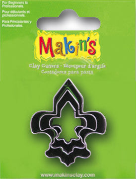 Makin's Cutter 3/S - Fleur De Lis - Miles Cake & Candy Supplies