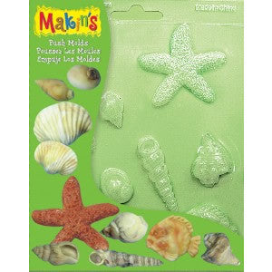 Makin's Sea Shells Push Mold