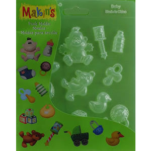Makin's Baby Push Mold