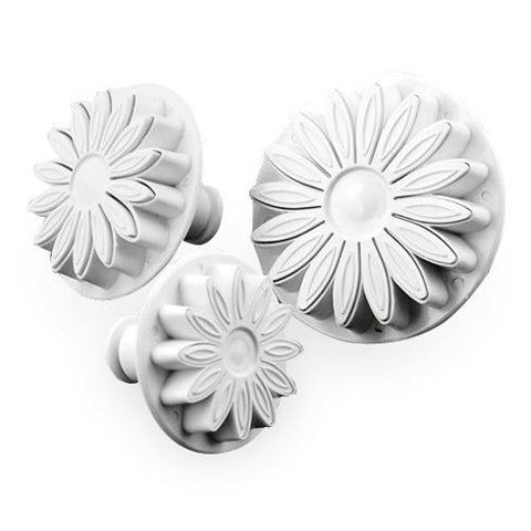 3 Pc Sunflower Plunger Cutter Set