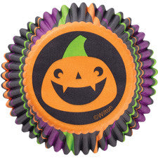 Wilton Spooky Pop Pumpkin Standard Baking Cup - Miles Cake & Candy Supplies
