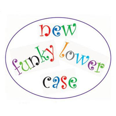 FMM Funky Letter Tappit- Lower Case - Miles Cake & Candy Supplies