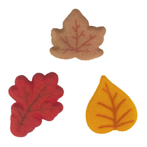 Shimmer Leaves Assortment Dec-Ons® - Miles Cake & Candy Supplies