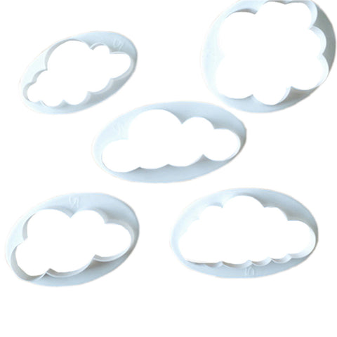 5 Pc Cloud Cutter Set