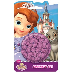 Wilton Sofia the First Sprinkles