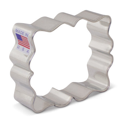 SweetAmb's Small Fanciful Plaque Cookie Cutter