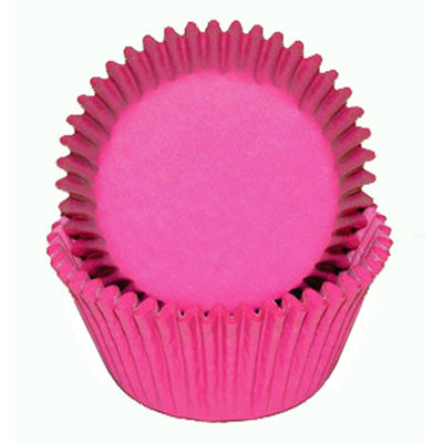 Pink Glassine  Baking Cups