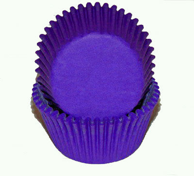 Purple  Glassine Baking Cups