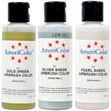 AmeriColor Sheen Airbrush Colors, 4.5 oz - Miles Cake & Candy Supplies