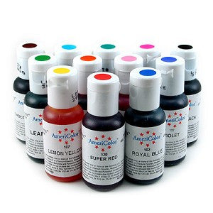 AmeriColor Soft Gel Paste .75 oz - Miles Cake & Candy - Gel Colors- Food Color