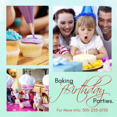 Kid's  Cupcake Birthday Party