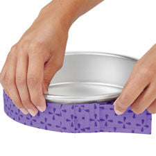 Wilton 2 Pc. Bake-Even Strip Set - Miles Cake & Candy Supplies