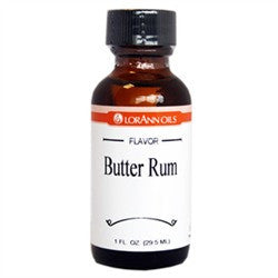 Butter Rum Super Strength Flavor, 1 oz. - Miles Cake & Candy Supplies