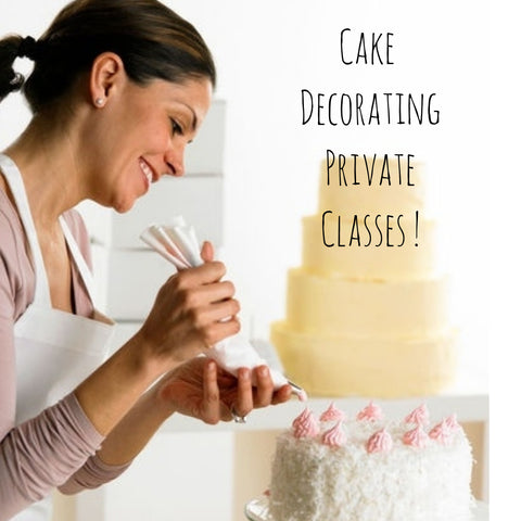 Private Cake Decorating Program