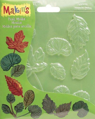 Leaves Decor Push Mold