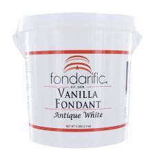 Fondarific Buttercream Antique White Fondant, 5 lbs