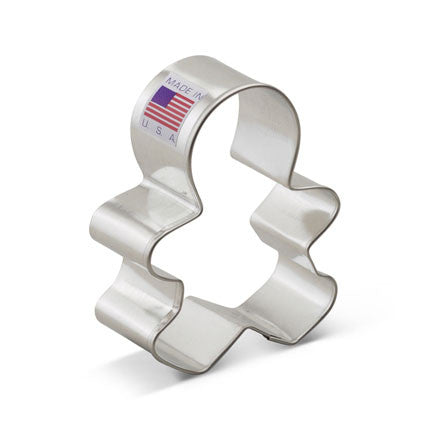 Boy/Girl, Gingerbread  Cookie Cutter - Miles Cake & Candy Supplies