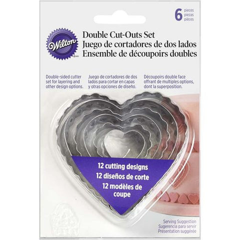 Wilton Heart Double Fondant Cut-Outs