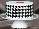 Houndstooth Silicone Onlay® - Miles Cake & Candy Supplies