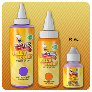 Ma Baker & Chef Jelly Colors, 10 ml