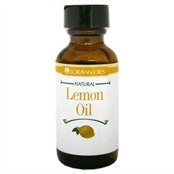 Lemon Oil (Natural) Super Strength Flavor, 1 oz. - Miles Cake & Candy Supplies