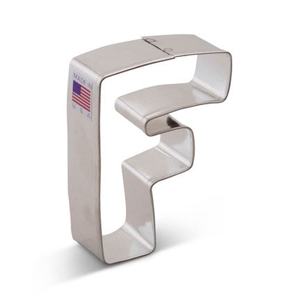 """F"" Cookie Cutter - Miles Cake & Candy Supplies"