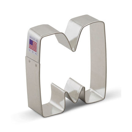 """M"" Cookie Cutter - Miles Cake & Candy Supplies"