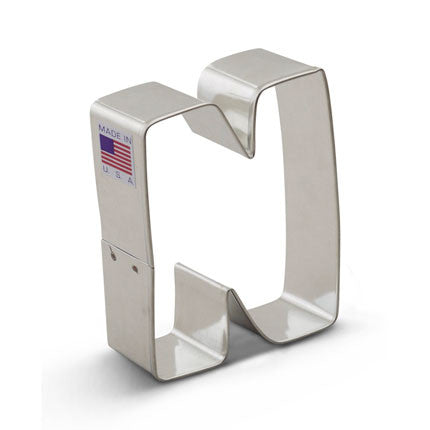 """N"" Cookie Cutter - Miles Cake & Candy Supplies"