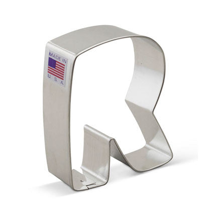 """R"" Cookie Cutter - Miles Cake & Candy Supplies"