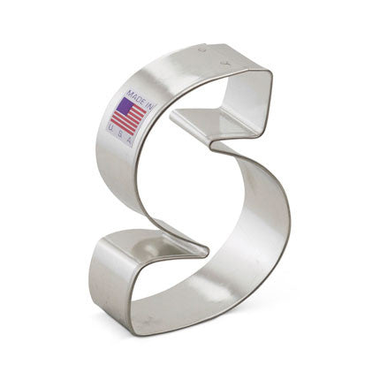 """S"" Cookie Cutter - Miles Cake & Candy Supplies"