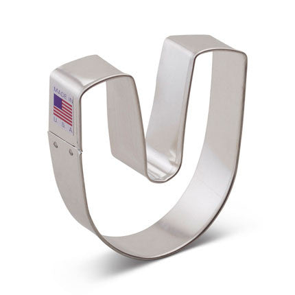 """U"" Cookie Cutter - Miles Cake & Candy Supplies"