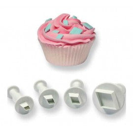 PME Diamond Plunger Cutters - Miles Cake & Candy Supplies