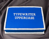 Typewriter Flexabet™ Uppercase Set
