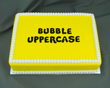 Bubble Flexabet™ Uppercase Set