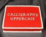 Calligraphy Flexabet™ Uppercase Set