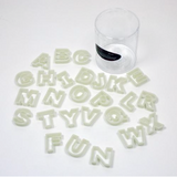 Fat Daddio's Alphabet Cutter Set - Miles Cake & Candy Supplies