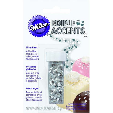 Wilton Silver Stars Edible Accents
