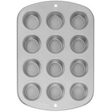 Wilton Recipe Right 12 Cup Muffin Pan - Miles Cake & Candy Supplies