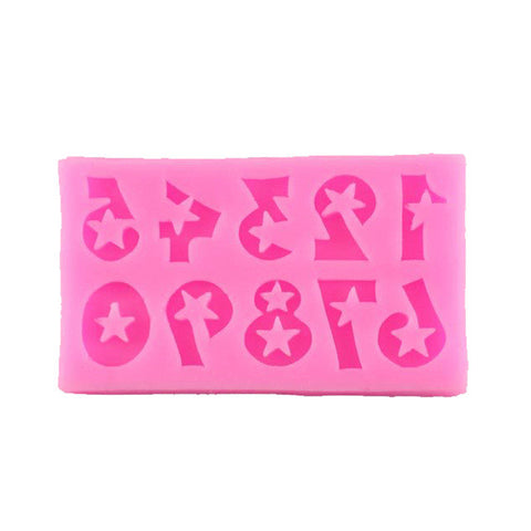 Fun Numbers Silicone Mold - Miles Cake & Candy Supplies